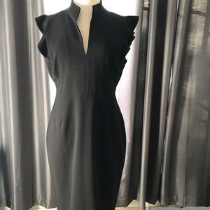 Calvin Klein black classic sheath dress.   Size 12